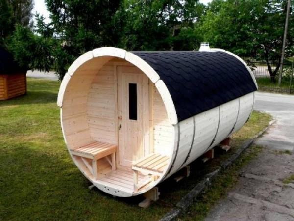 Sauna-Fass