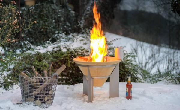 Feuerspeicher Feuer, Licht & viel Wärme