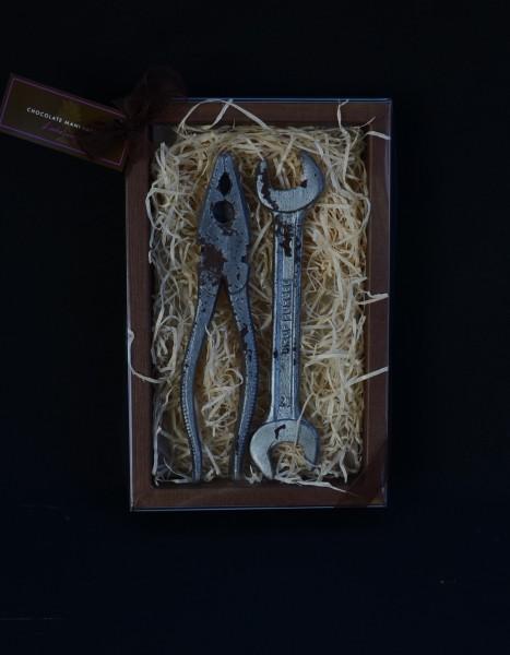Schokolade Maulschlüssel und Zange