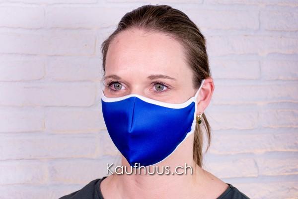 "Community Maske ""Comfort Mask"" Retro Blau"