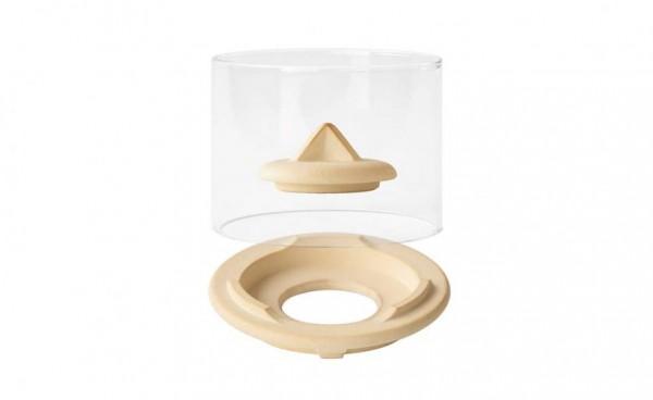 Windglas-Aufsatz für das Schmelzfeuer Indoor CeraNatur®