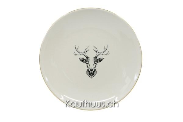"Vorspeisenteller ""Oh Deer!"" Hirsch, Ø 21 cm"