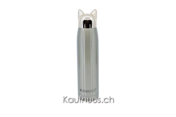 """Isolier-Trinkflasche """"Super Cat"""", champagner"""