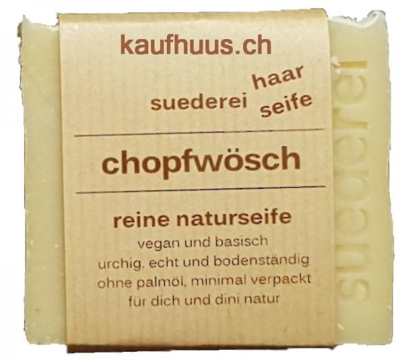chopfwösch Haar- Naturseife