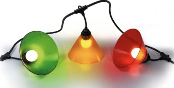 Easy-Connect Dekorative Girlanden Lichterkette Trichter trendy