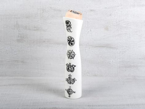 Wasserkaraffe mit Arvenholz Aufsatz 32.5 cm