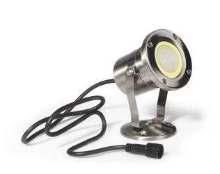 Easy-Connect Strahler für Teich, Inox, LED 4W
