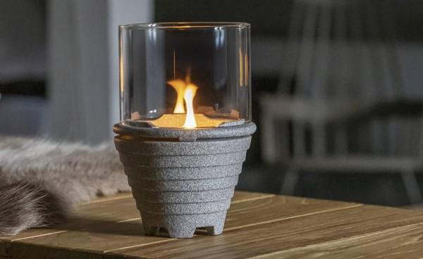 Schmelzfeuer® Indoor Granicium® mit Windglas