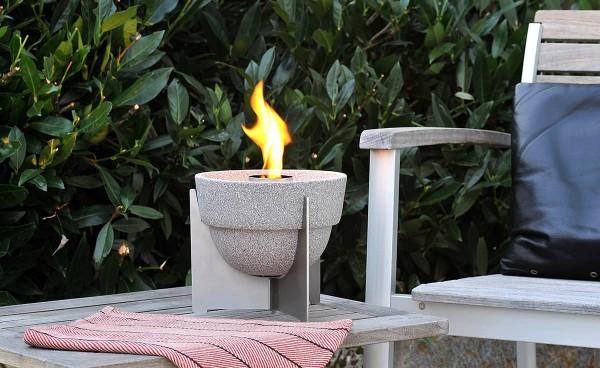 Schmelzfeuer Outdoor L Granicium® mit Deckel, Denk Outdoor