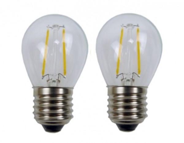 Easy-Connect 2 LED Leuchtmittel E27 Filament