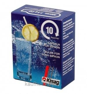Kisag CO2 Kapseln für Siphon Flaschen