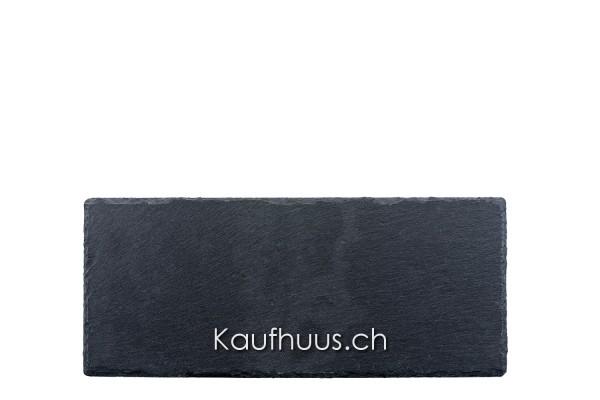 Schieferplatte, 33 x 14 cm