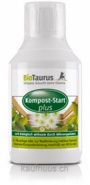 BioTaurus Garden - Kompost-Start Plus