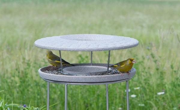 Denk Futterhaus Granicium® -Vögel füttern und beobachten mit Ständer