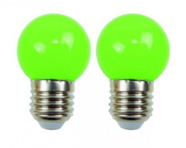 Easy-Connect 2 LED Leuchtmittel E27 Grün