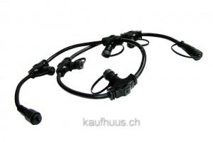 Easy-Connect Verbindungkette 1m, 5 Ausgänge 2x1,5mm², IP67