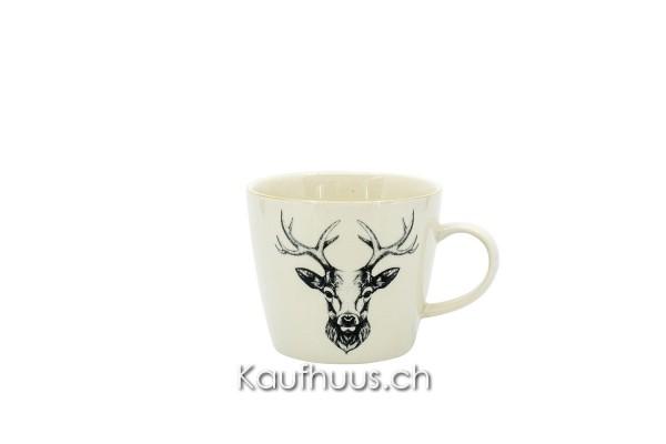"""Kaffeetasse """"Oh Deer!"""" Hirsch, 300 ml"""