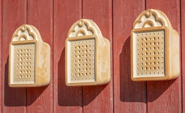 Wildbienenhaus CeraNatur® Set mit 3 Stück