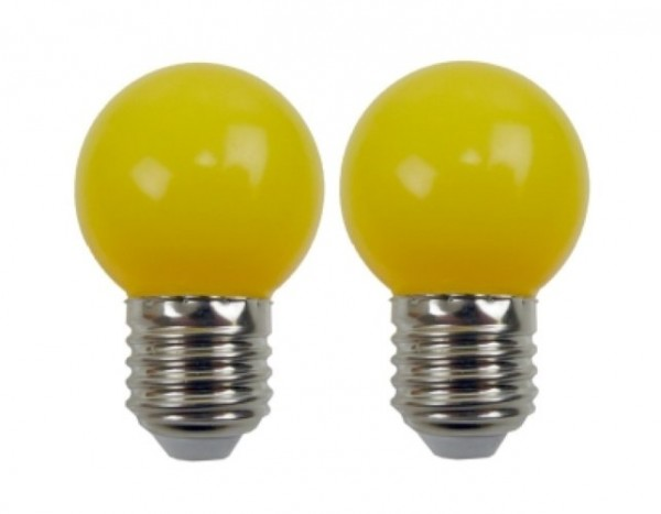 Easy-Connect 2 LED Leuchtmittel E27 Gelb