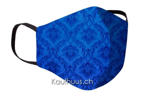 """Community Maske """"Comfort Mask"""", Ornament, blau"""