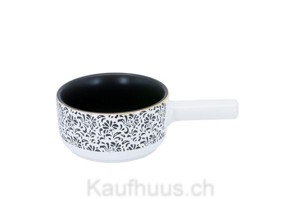 """Käsefondue-Caquelon Element """"Floral"""", Ø 16cm"""