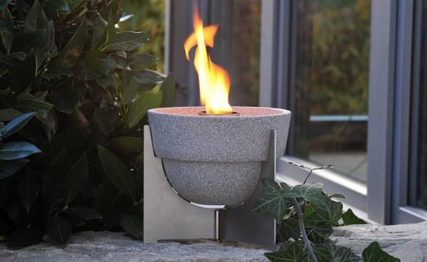 Schmelzfeuer Outdoor L Granicium® mit Deckel