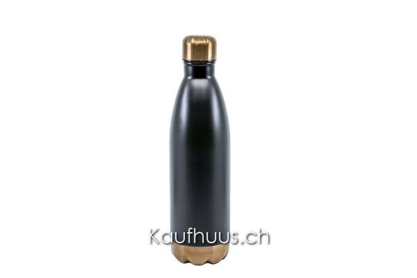 """Isolier-Trinkflasche """"Black Pearl"""", 750 ml"""