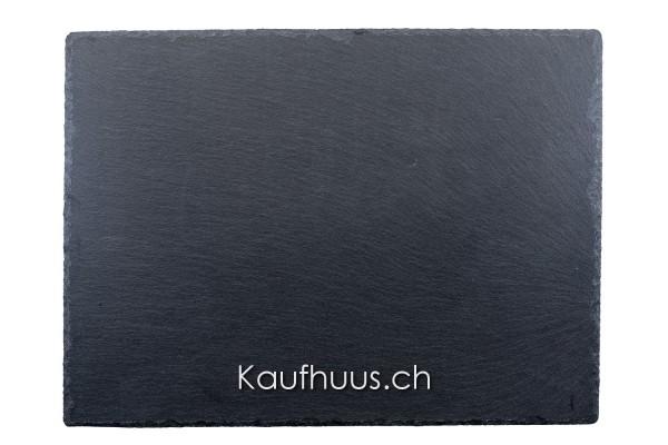 Schieferplatte, 40 x 30 cm