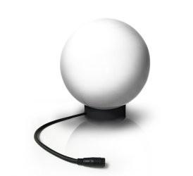 Easy Connect - Lichtkugel weiss 25cm, Halogen