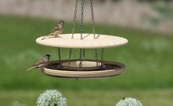 Denk Futterhaus CeraNatur® - Vögel füttern und beobachten mit Hängung
