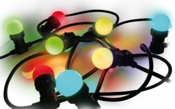 Easy-Connect Festliche Lichterkette klassisch farbig