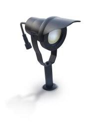 Easy Connect Strahler zum Stecken, schwarz Alu 6.5W