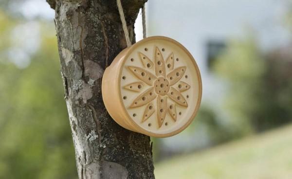 Wildbienenhaus Blume CeraNatur® mit Seil