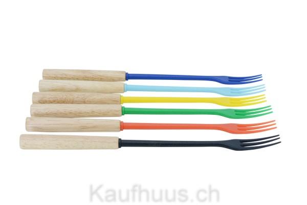 "Käsefondue-Gabeln ""Protect Wood Colors"""