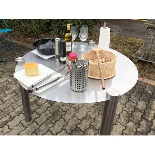 INOX Tischbeine