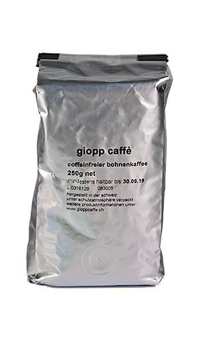 Röstkaffee coffeinfreier Bohnenkaffee