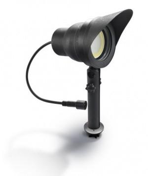 Easy Connect Strahler zum Stecken, Kunststoff schwarz