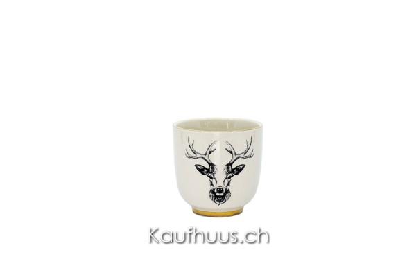 "Espressotasse ""Oh Deer!"" Hirsch, 200 ml, Keramik"